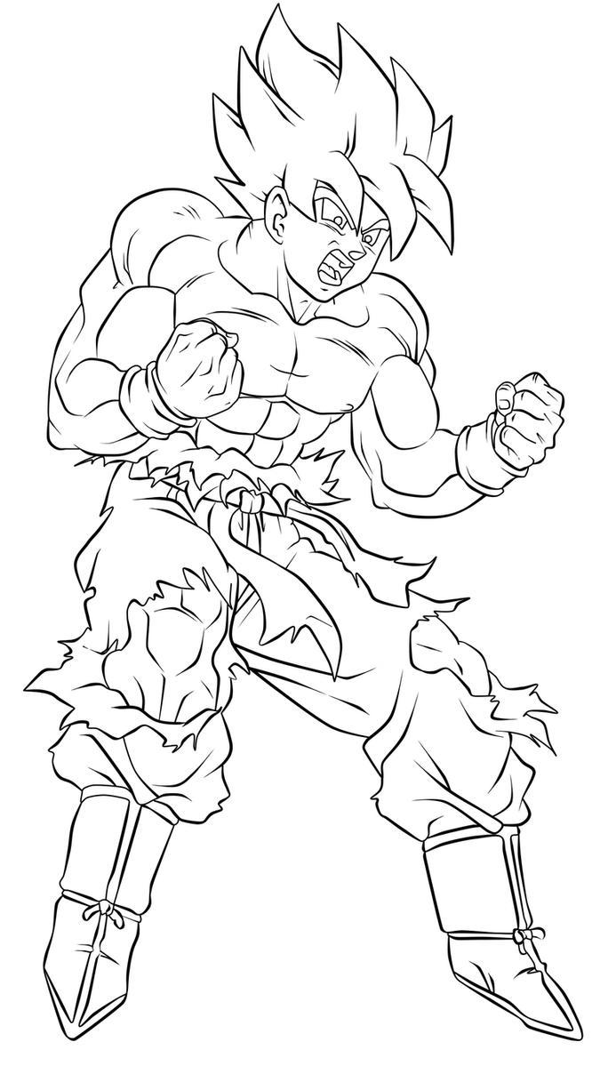 Goku SSJ By WLadyB91 On DeviantArt