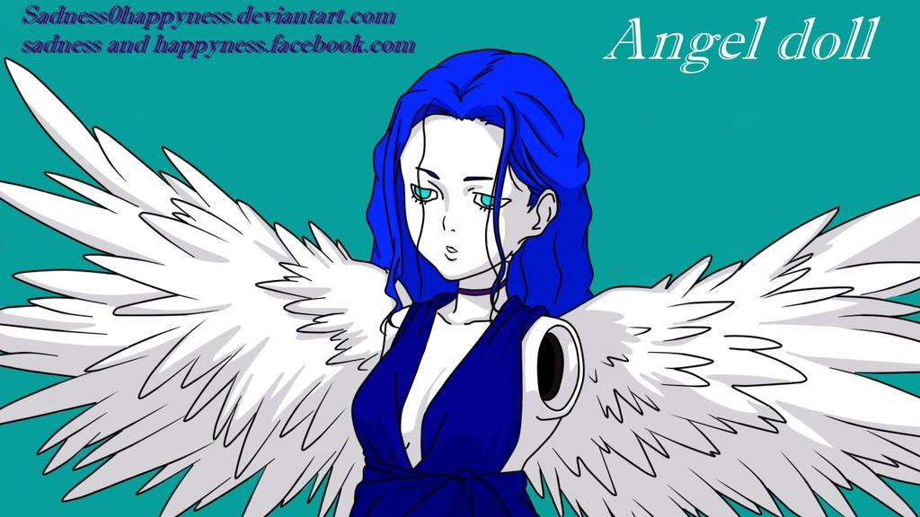 Angel doll by Sadness0Happyness