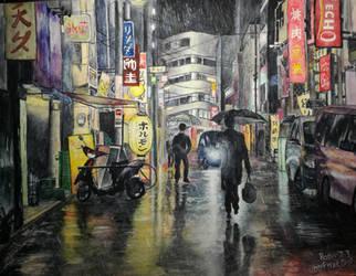 [NEON RAIN] by nibor289