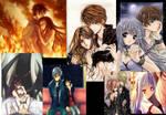 Anime couples - wallpaper