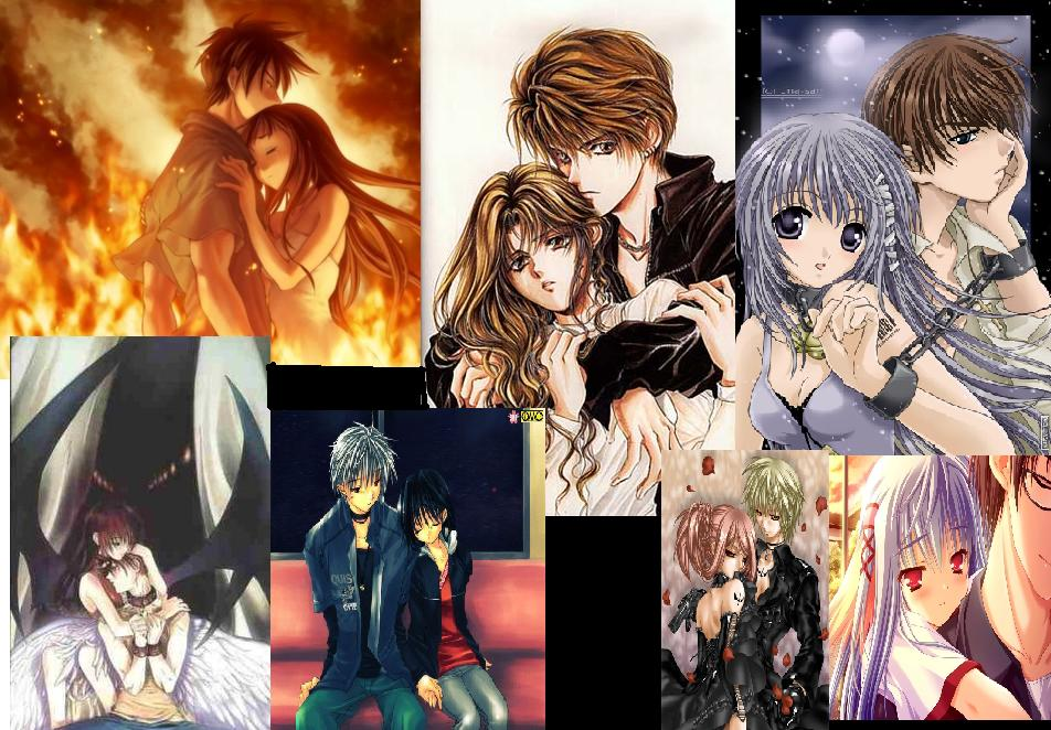 group image for Anime couples