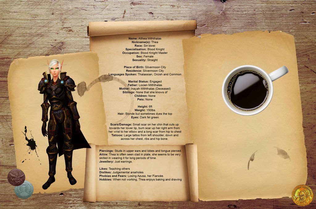 Character Sheet Template - Althea by Ammeg88 on DeviantArt