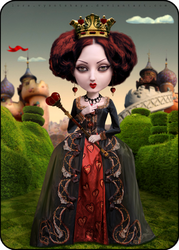 Queen Of Hearts by Lora-Vysotskaya