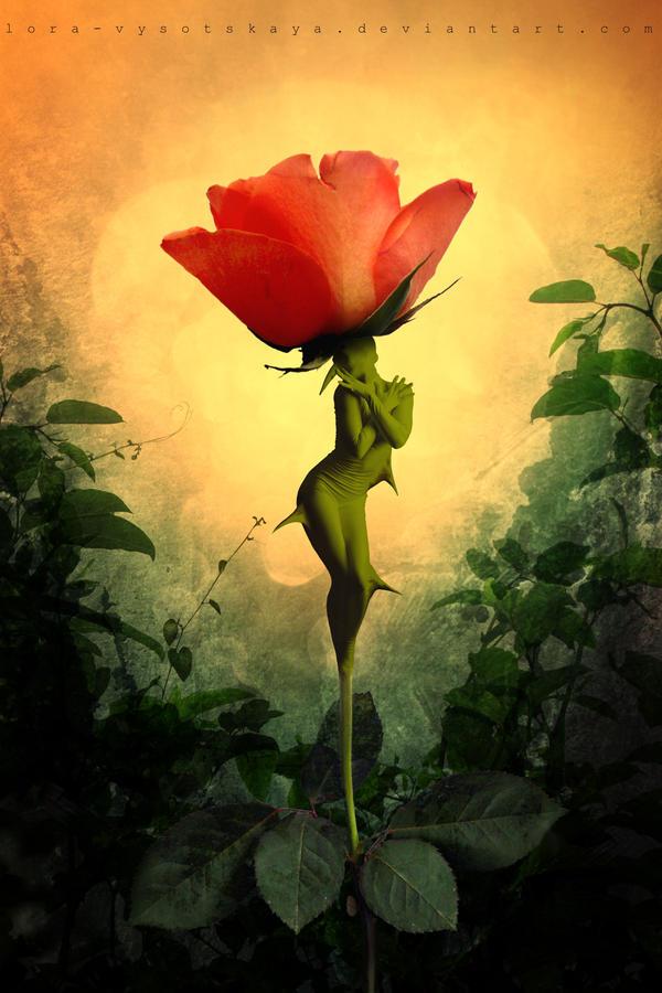 Rose's Soul by Lora-Vysotskaya