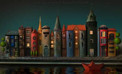 Booksburg by Lora-Vysotskaya