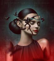 Dark Thoughts by Lora-Vysotskaya