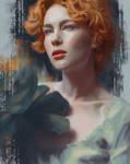 Black Rose by Lora-Vysotskaya