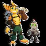 Ratchet and Clank + speedpaint