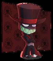 Smol Black Hat by BlueStripedRenulian