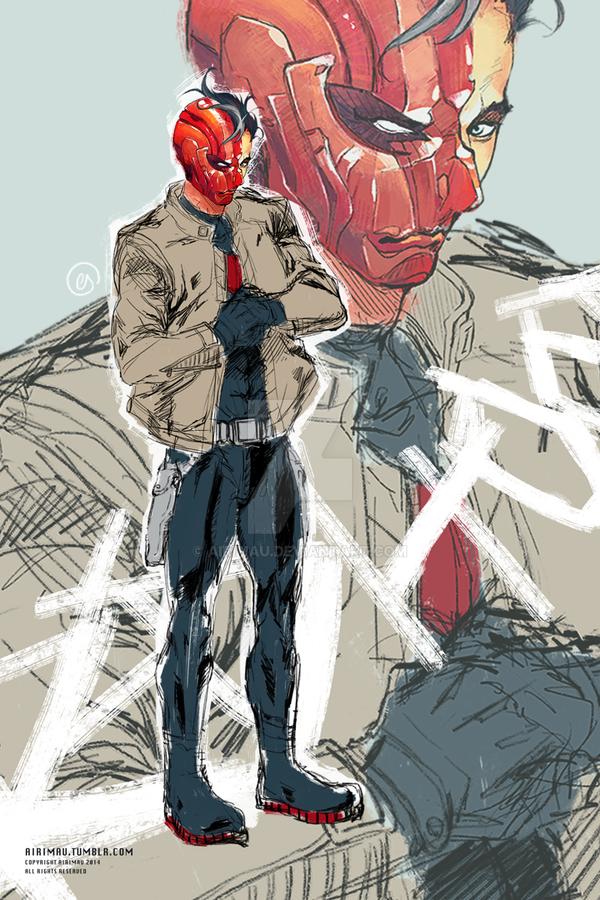 Red Hood by airimau