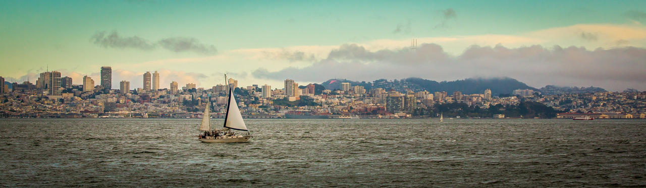 san francisco city scape by mantiswind