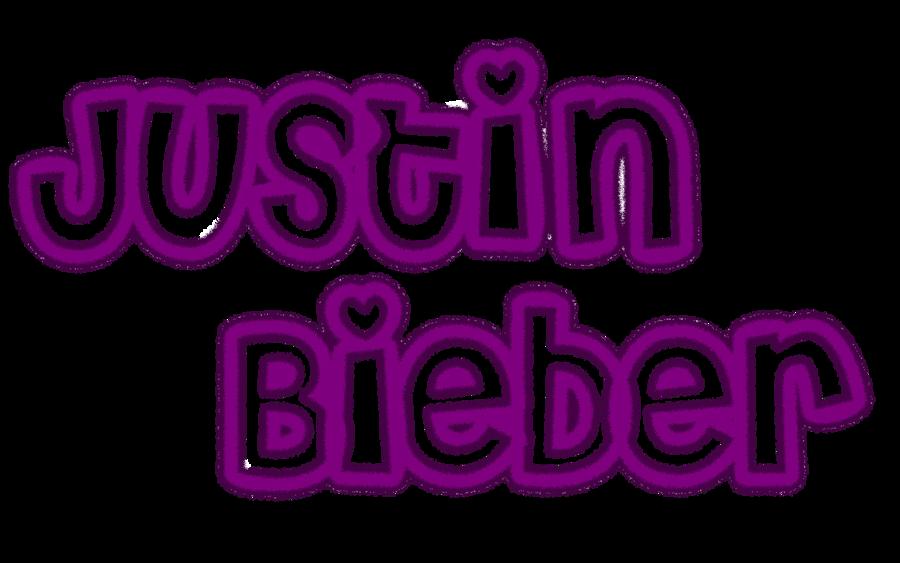 Justin Bieber Name Font