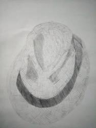 Fedora - 2B Pencil by vrl97