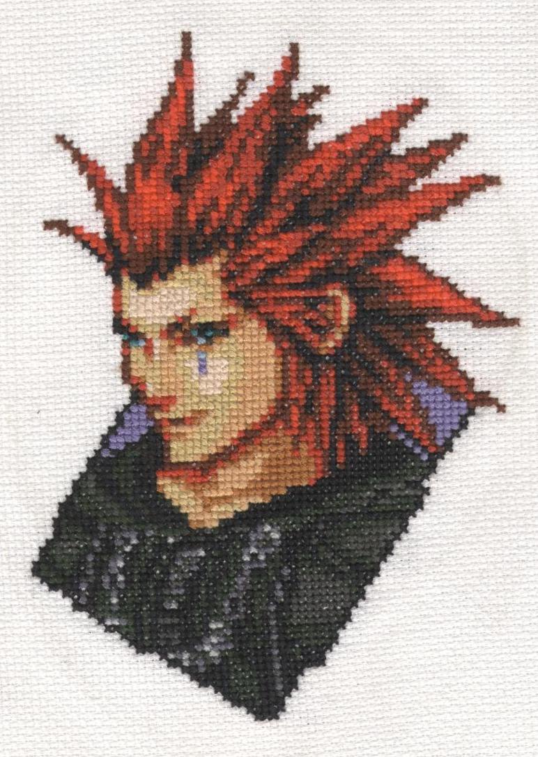 Kai's Works Axel_Cross_stitch___4_monthes_by_x_Tsukai_x