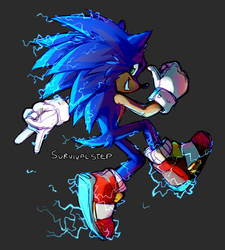 The Sonic Movie electricity thing is neat by Survivalstep
