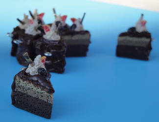 Chocolate Mocha-Bean Cake by vertabella