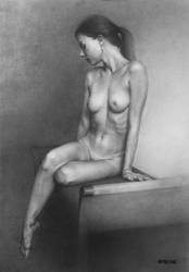 Figure Drawing Girl by AATheOne