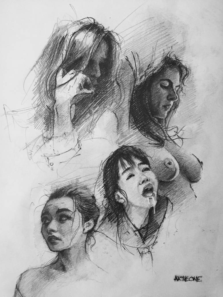 Sketchbook Page by AATheOne