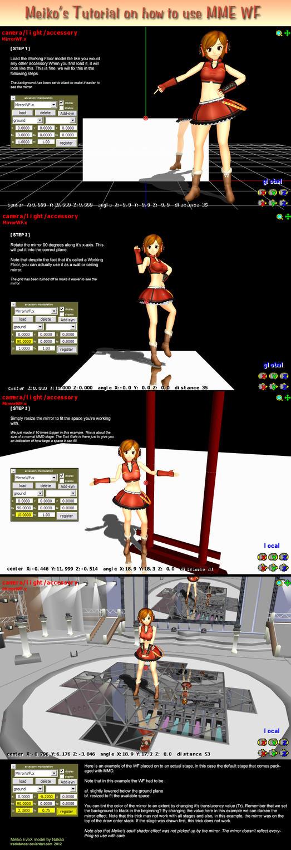 Mmd Tutorial Working Floor By Trackdancer On Deviantart