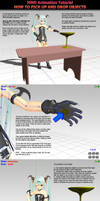 MMD Tutorial on picking up and dropping objects
