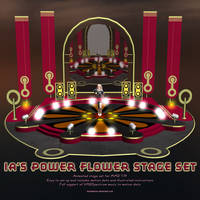MMD IA's Power Flower Stage Set by Trackdancer