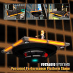 MMD Rin's Personal Performance Platform Stage