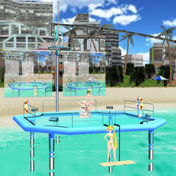 MMD Aquanaut Stage Preview by Trackdancer