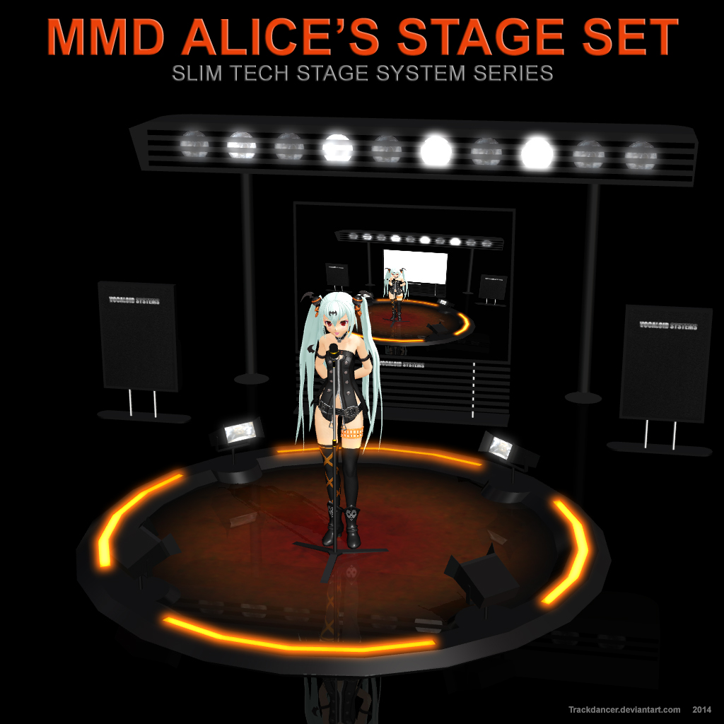 MMD Alice's Stage Set by Trackdancer
