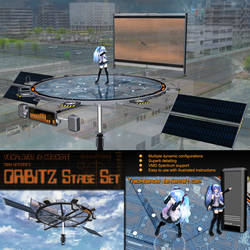 MMD Miku Hatsune's ORBITZ Stage by Trackdancer