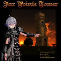 MMD Far Pointe Tower Stage by Trackdancer