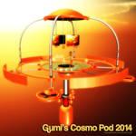 MMD Gumi's Cosmo Pod 2014