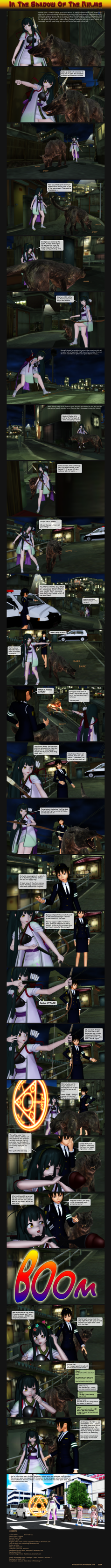 MMD In the Shadow of the Ninjas by Trackdancer