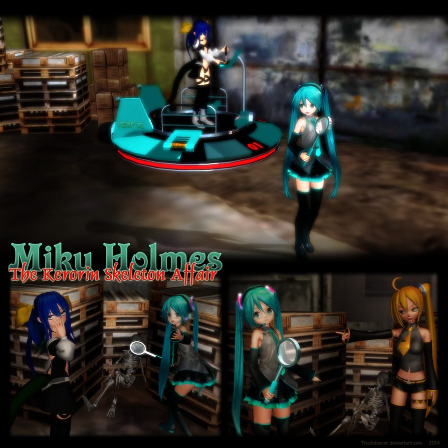 Miku Holmes - The Kerorin Skeleton Affair by Trackdancer
