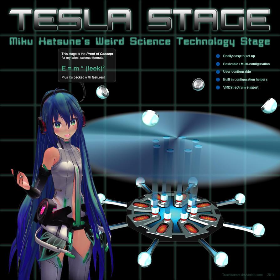 MMD Miku's Tesla Stage by Trackdancer