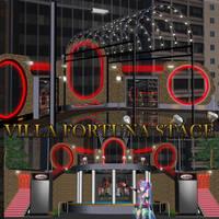 MMD Villa Fortuna Stage by Trackdancer