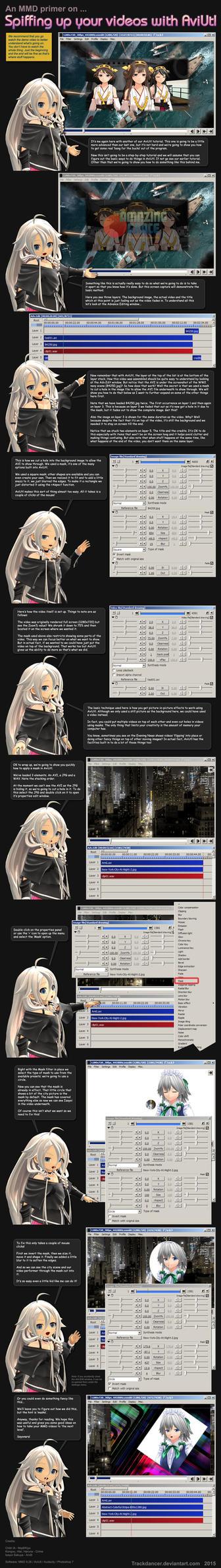 MMD Tutorial AviUtl 2: PiP+masks by Trackdancer