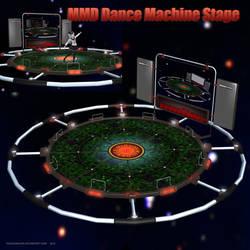 MMD Dance Machine Stage