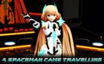 MMD ANGELA - Spaceman - Original Animation
