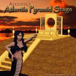 MMD Atlantis Pyramid Stage + Motion D/L
