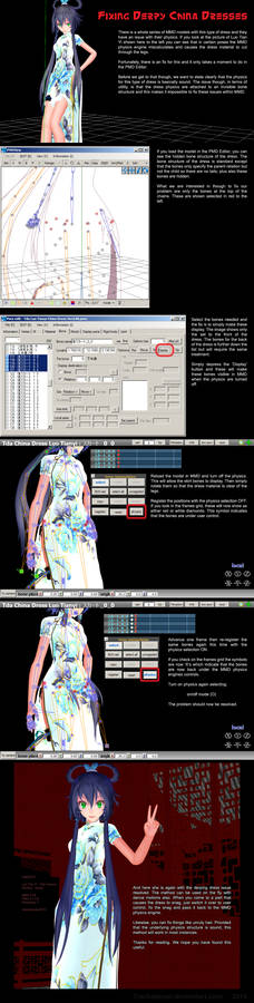 MMD Fixing Derpy Cheongsams