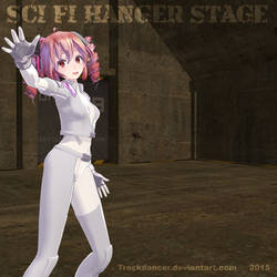 MMD Sci Fi Hanger Stage