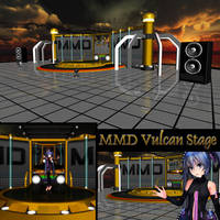 MMD Vulcan Stage