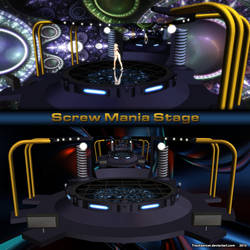 MMD Screw Mania Stage