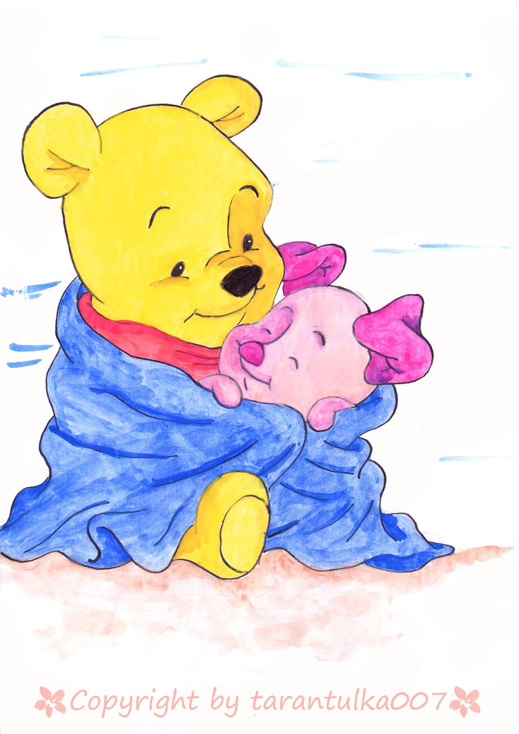 Buy Winnie The Pooh In Honey Cake Topper Bjs Bakery