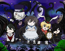 Alice and Friends(Pandora Hearts)