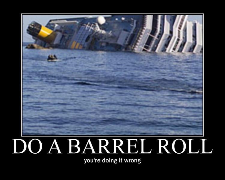 Do a barrel roll 1000 times