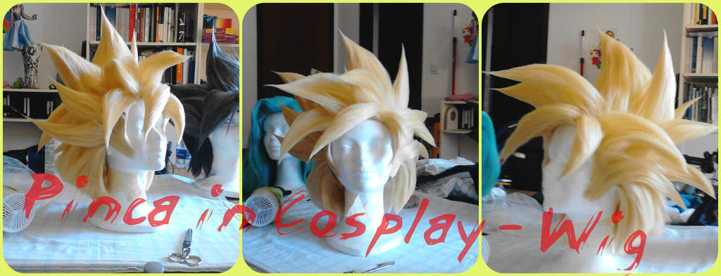 Gohan ssj cell game wig by PincaIoIda