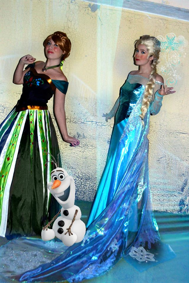 Anna e Elsa by PincaIoIda