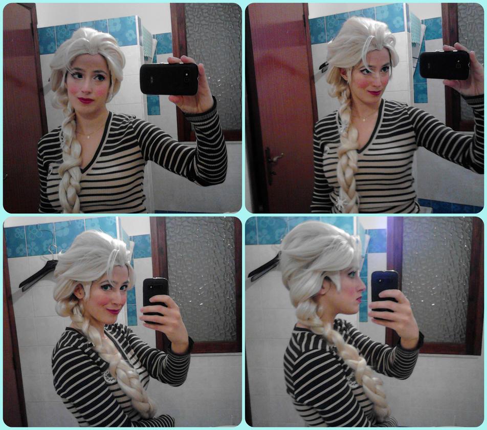 Elsa's wig by PincaIoIda