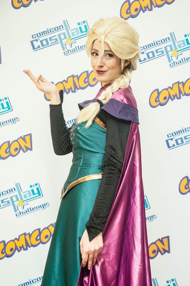 Elsa Comicon by PincaIoIda